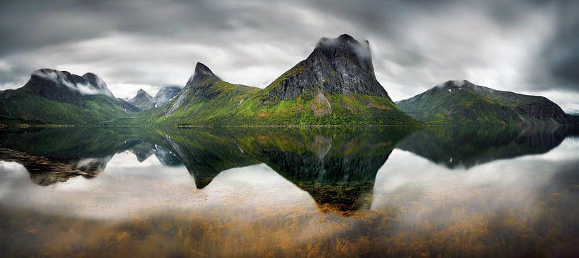 Steinfjorden Panorama van Wojciech Kruczynski