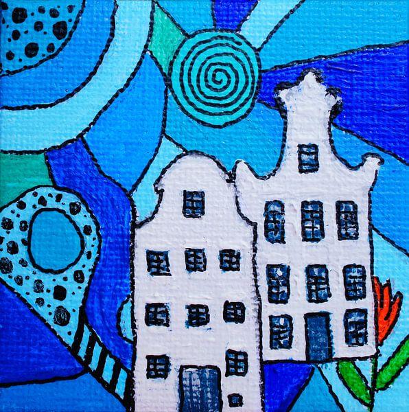 KLM huisjes van Angelique van 't Riet
