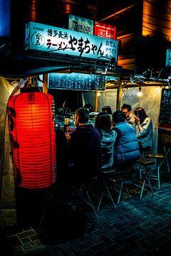 Essen am Abend in Fukuoka von Mickéle Godderis