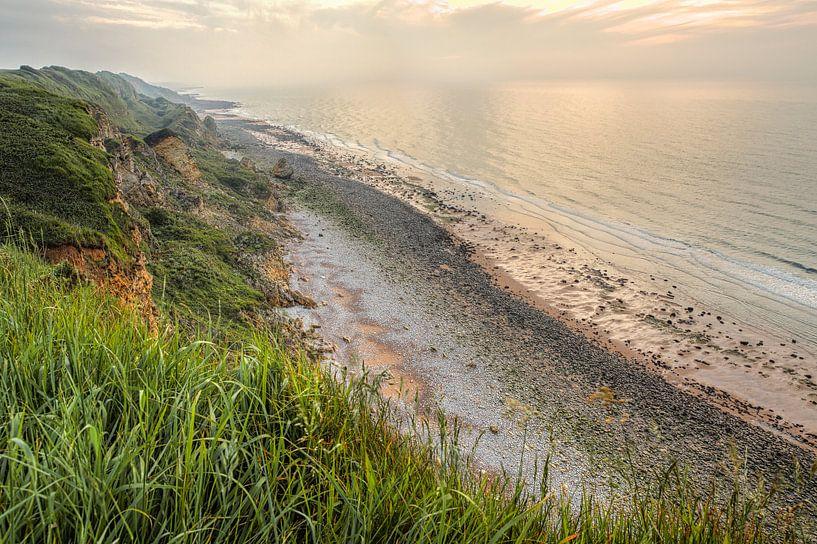 Normandië kust Frankrijk van Rob van der Teen