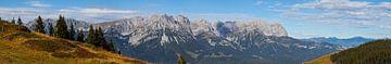 Panorama vom Wilden Kaiser, Tirol sur Jan Schuler