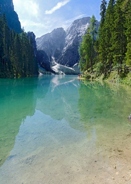 Pragser Wildsee von Leopold Brix