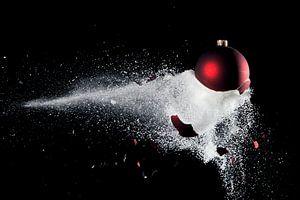 Kerstbal en suiker