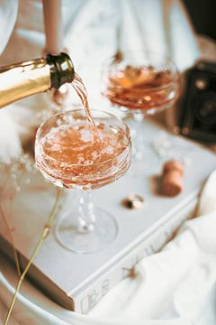 Champagne feest van Melanie Schat