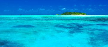 Maina Atoll, Aitutaki - Cook Islands von Van Oostrum Photography