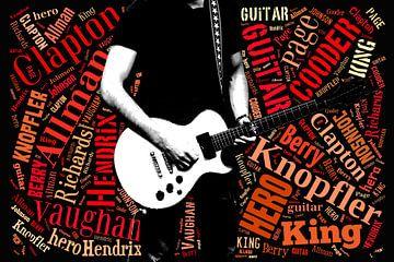 gitaar helden van Lida Bruinen