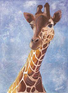 Cool Giraffe van Bojan Eftimov