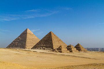 De piramiden van Gizeh van Roland Brack