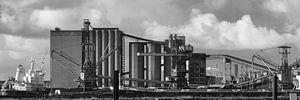 Industrielandschap in de Botlek van