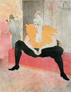 Der amtierende Clown, Henri de Toulouse-Lautrec - 1896