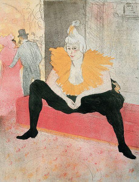 Der amtierende Clown, Henri de Toulouse-Lautrec - 1896 von Het Archief