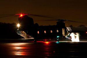CH-47 Chinook van