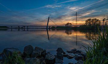 Eilandbrug bij Kampen van Wim Kanis