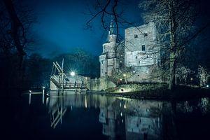 Schloss Duurstede mit altem Turm in Wijk bij Duurstede von Marcel van den Bos