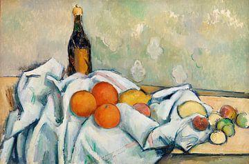 Paul Cézanne, Flasche und Frucht (ca. 1890) von Atelier Liesjes