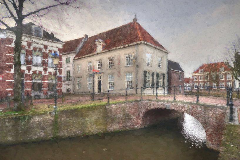 Museum Flehite historisch Amersfoort van Watze D. de Haan