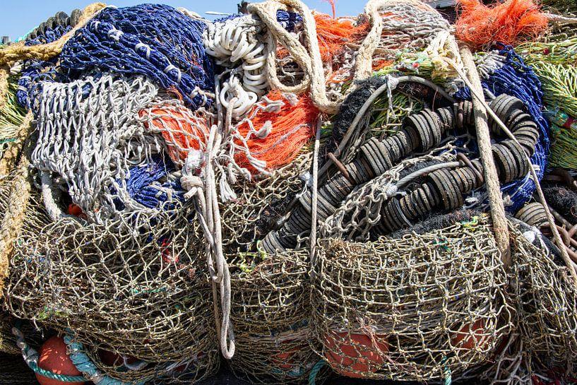 Fischernetze von Yvonne van der Meij