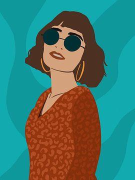 Watch me. von YOPIE illustraties