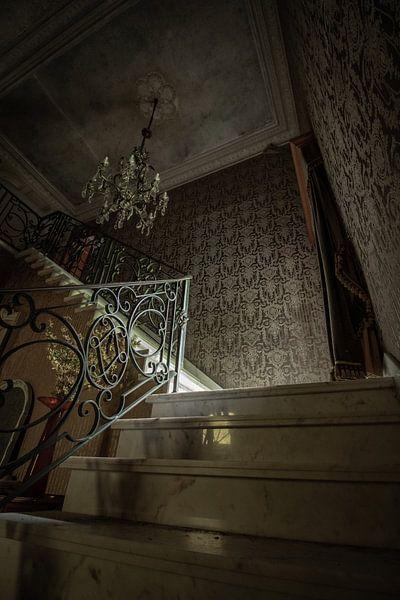 Escaliers en marbre sur Robbert Wille