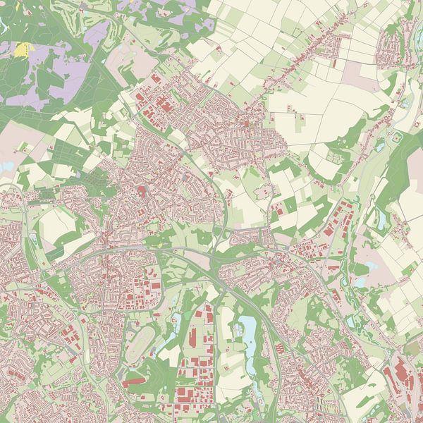 Kaart vanLandgraaf