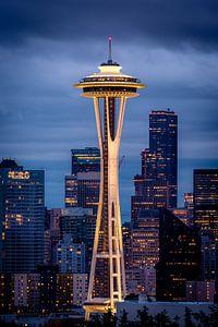 Sleepless in Seattle - een kiekje van de space needle