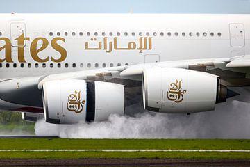 Flugzeug Boeing 777 von Inge van den Brande