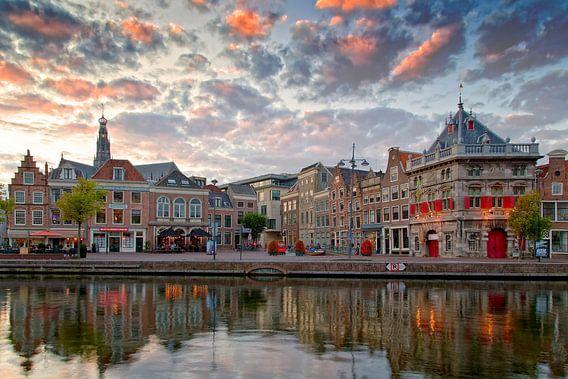 Aan de Spaarne te Haarlem