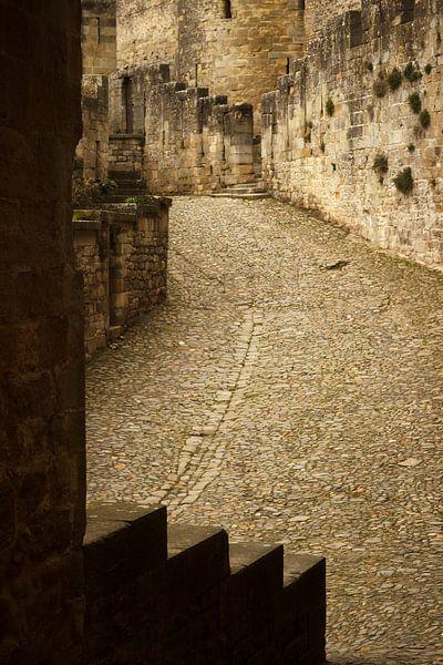 Steps of Carcassone, medieval city von Luis Fernando Valdés Villarreal Boullosa