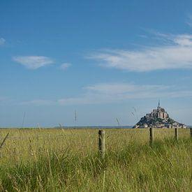 Mont Saint Michel, von der Wiese aus gesehen von Patrick Verhoef