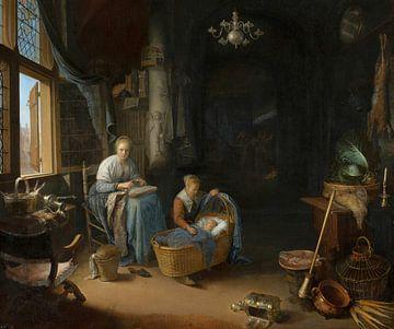 Die junge Mutter, Gerrit Dou