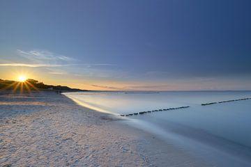 Op het strand van Glowe van Christina Bauer Photos