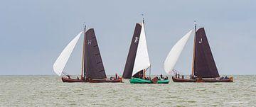 Skûtsjes op het IJsselmeer_04 van Harry Eggens