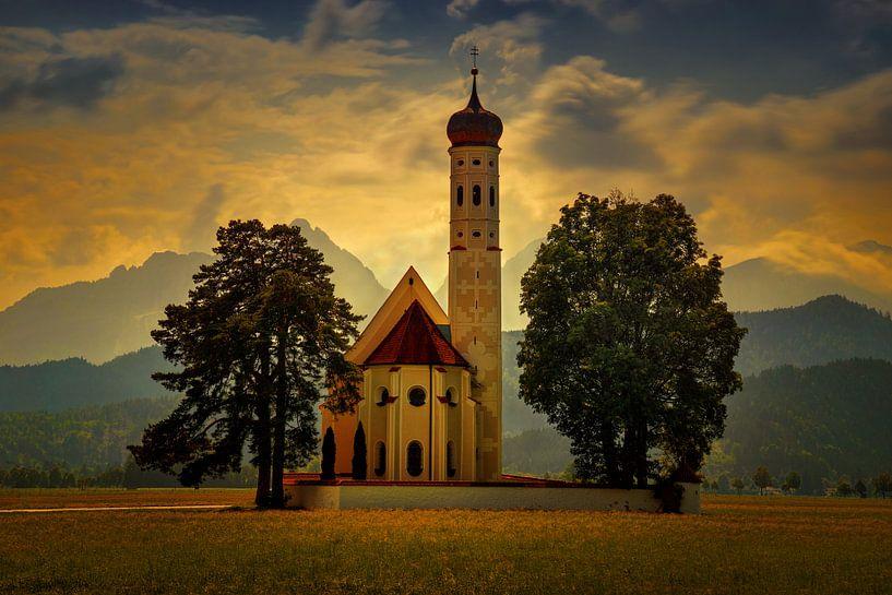 St. Coloman kerk van Wojciech Kruczynski
