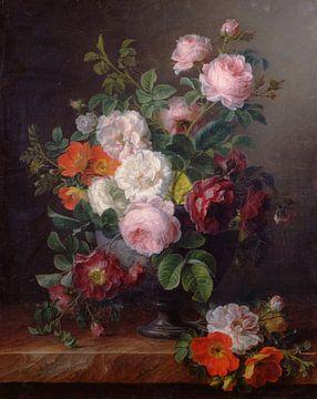 Vase der Rosen, Cornelis van Spaendonck