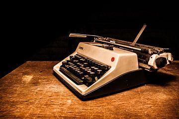Oude typmachine von Mees van den Ekart