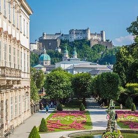 SALZBURG Herrlicher Blick auf die Festung Hohensalzburg von Melanie Viola