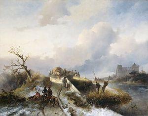 Terugkeer van de jacht, Charles Rochussen