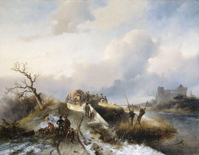 Rückkehr von der Jagd, Charles Rochussen von Meesterlijcke Meesters