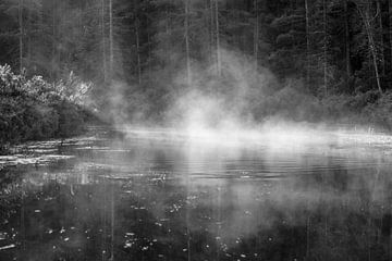 Waternevel in de ochtend von Dennis Weggelaar