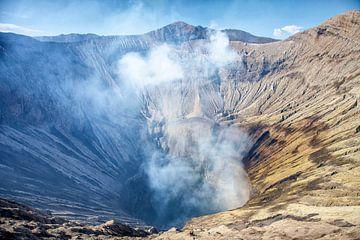 Vulkaan de Bromo van Dries van Assen