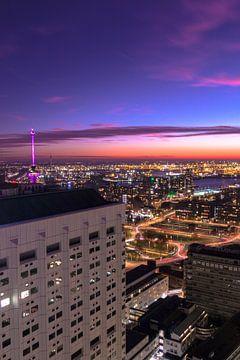Zonsondergang Rotterdam von AdV Photography