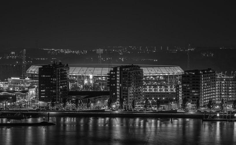 "Feyenoord Stadion ""De Kuip"" Luchtfoto in Rotterdam van MS Fotografie   Marc van der Stelt"