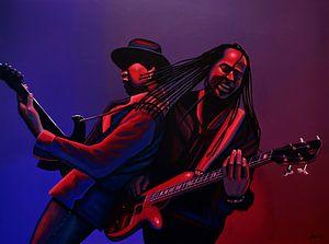 Living  Colour schilderij