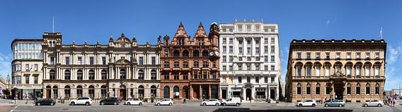 Glasgow St Vincent Place Panorama