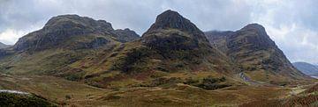 Drei Schwestern, Glencoe Scotland von Ab Wubben