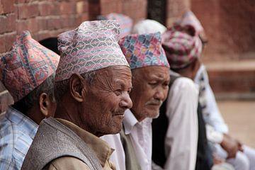 mannen in Nepal von laura van klooster