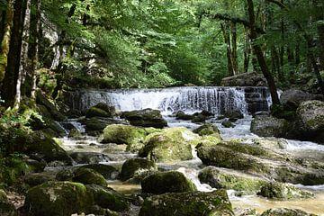 Wasserfall Cascades de Herisson im französischen Jura von Robin Verhoef