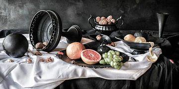 Stilleven met grapefruit van Marion Kraus