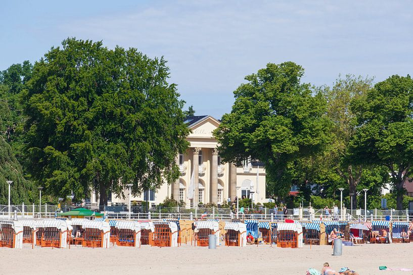Villa Mare, Strandpromenade, Lübeck-Travemünde, Sleeswijk-Holstein, Duitsland, Europa van Torsten Krüger