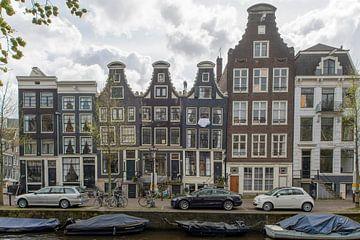 4 maisons à poche à Amsterdam sur Peter Bartelings